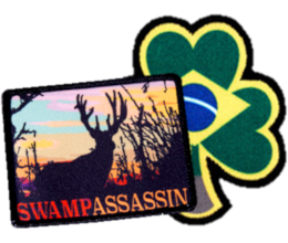 Custom band patches - example image of sublimated patches