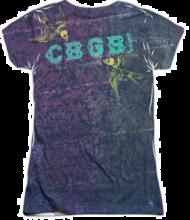 Custom Apparel Printing - Example Image - Screenprinted Band Tee on Patterned Blank